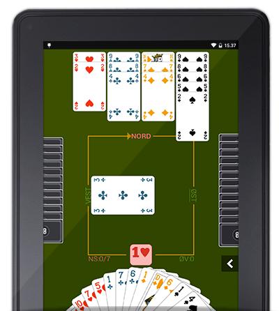 Download og spil bridge gratis på Amazon-smarthphones og -tablets