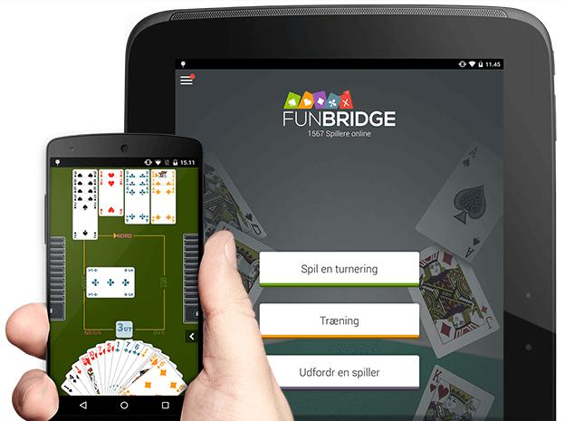 Download og spil bridge gratis på Android-smarthphones og -tablets