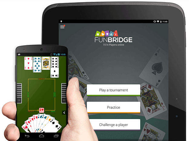 Download and play bridge for free on Android smartphones and tablets