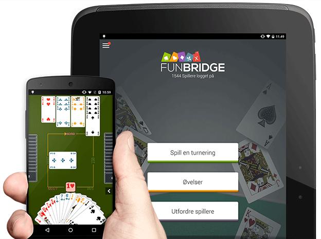 Last ned og spill bridge gratis på Android smarttelefoner og nettbrett
