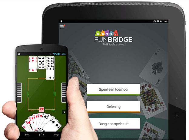 Gratis bridgespel downloaden en spelen op Android smartphones en tablets