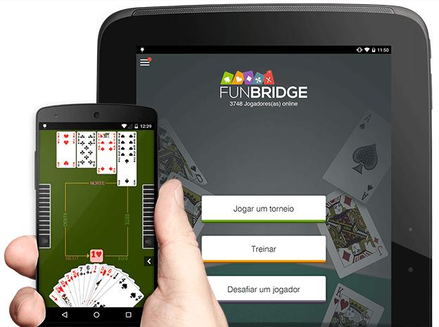 Fazer o download e jogar bridge gratuitamente em smartphones e tablets Android