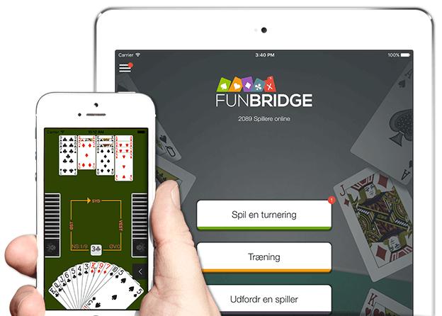Spil bridge gratis på iPhone, iPad og iPod Touch