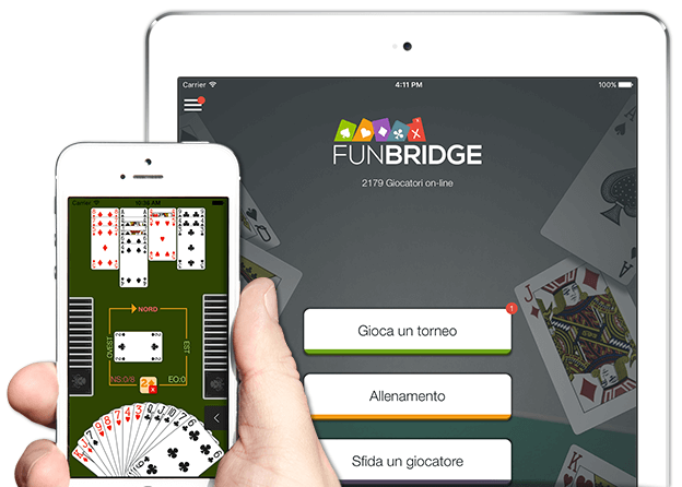 Gioca a bridge gratuitamente su iPhone, iPad e iPod Touch
