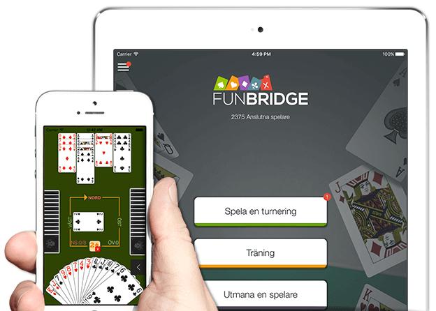 Spela bridge gratis på iPhone, iPad och iPod Touch