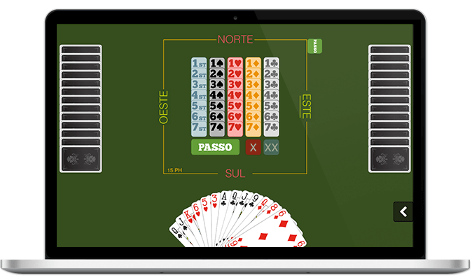 Fazer o download e jogar bridge gratuitamente num Mac Apple