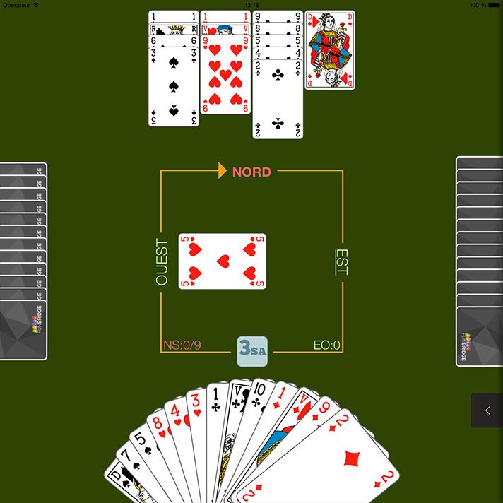 Au jeu de la carte