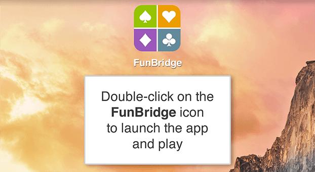Download Funbridge, free bridge game